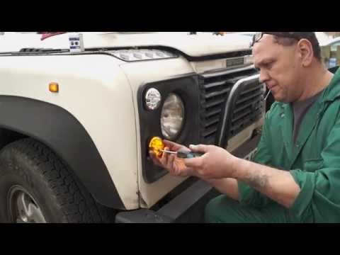 Fitting LED Lamps To A Land Rover  Defender- The Fine Art Of Land Rover Maintenance