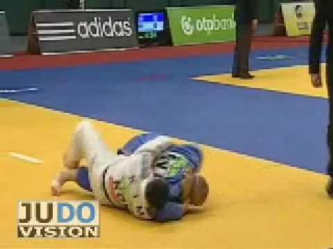JUDO 2009 Grand Prix Hamburg: Niko-Tapio Niemela (FIN) - Hyung-Ju Kim (KOR)
