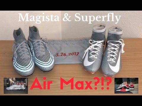 Nike Air Max X Superfly V & Magista Obra II SE