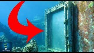 وجد باب في قاع البحر و قرر فحصه من الداخل فوجد الكارثة