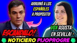 VOX TRIUNFA en SEVILLA con OLONA, SÁNCHEZ ARRUINÓ ADREDE a los ESPAÑOLES y el PP hace el RIDÍCULO!😱