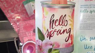 Scentsy Scent & Warmer of the Month~March 2018~Hello Spring~Spring Forward