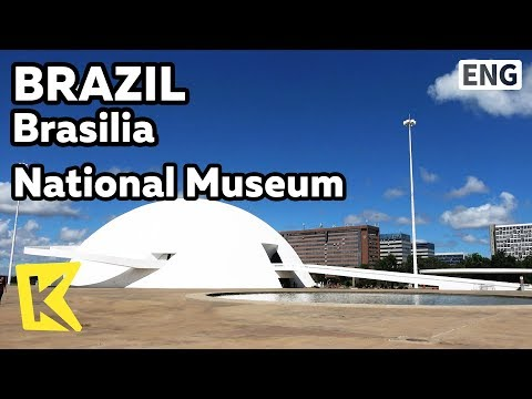 【K】Brazil Travel-Brasilia[브라질 여행-브라질리아]우주선 모양의 국립 박물관/Unesco/National Museum/Spacecraft/Dome