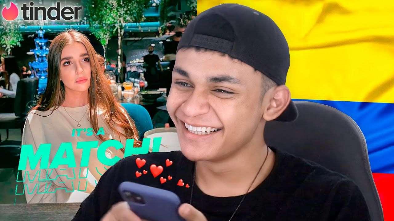 TINDER COLOMBIA 😍 - YouTube
