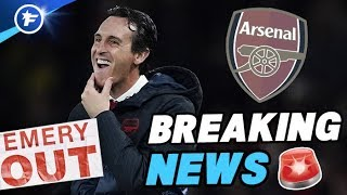 VIDEO: OFFICIEL : Unai Emery écarté par Arsenal !