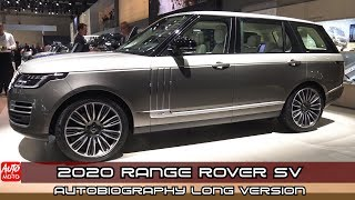 2020 Range Rover SV Autobiography L-Version - Exterior And Interior - Frankfurt 2019