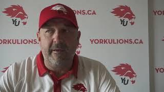 York Lions | Post-Game Interview with Warren Craney - Aug. 26, 2018 vs. Queen