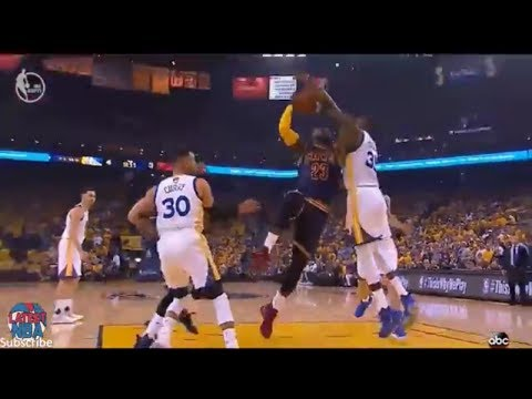 Cavaliers vs Warriors Game 1 - 1st Quarter Highlights - All slow motion replays