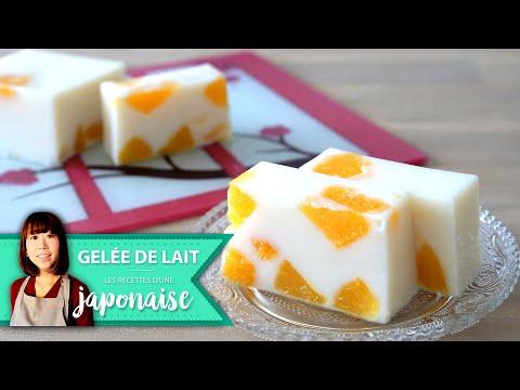 recette-gelée-de-lait-à-l'orange-|-les-recettes-d'une-japonaise-|-facile-dessert-gateau