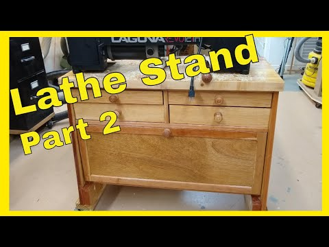 DIY Wood Lathe Stand - Part 2