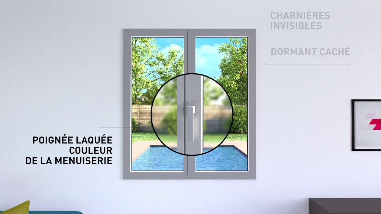 Simple La Fenêtre Invisible Fine Solide