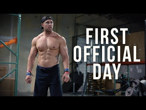 My First Official Day Of Crossfit