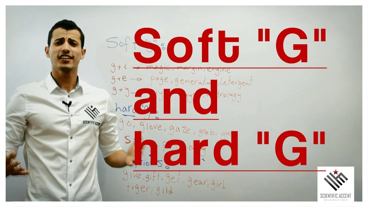 hight resolution of what is the hard \G\ and the soft \G\? - YouTube