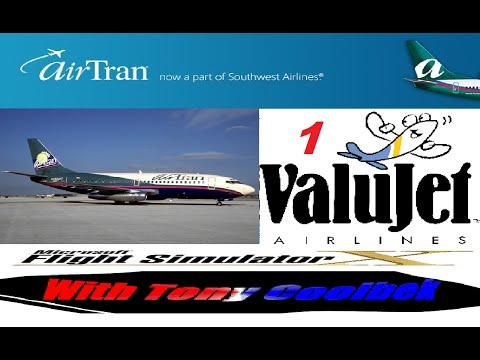 FSX Tribute Flight: Airtran Flight One (Taxi and Takeoff)