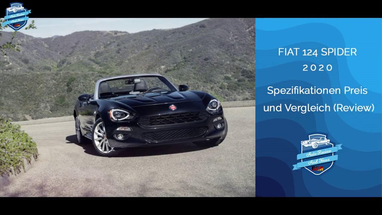 2020 Fiat Spider Price