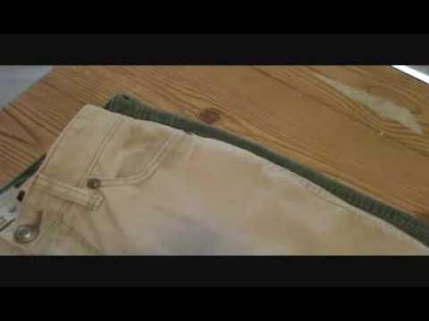 275734ed9 Como Reducir o Achicar un pantalon hasta 2 tallas (Peticion) - YouTube