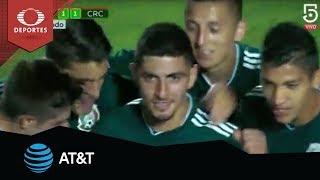 Golazo de Víctor Guzmán | México 1 - 1 Costa Rica | Amistoso | Presentado por AT&T