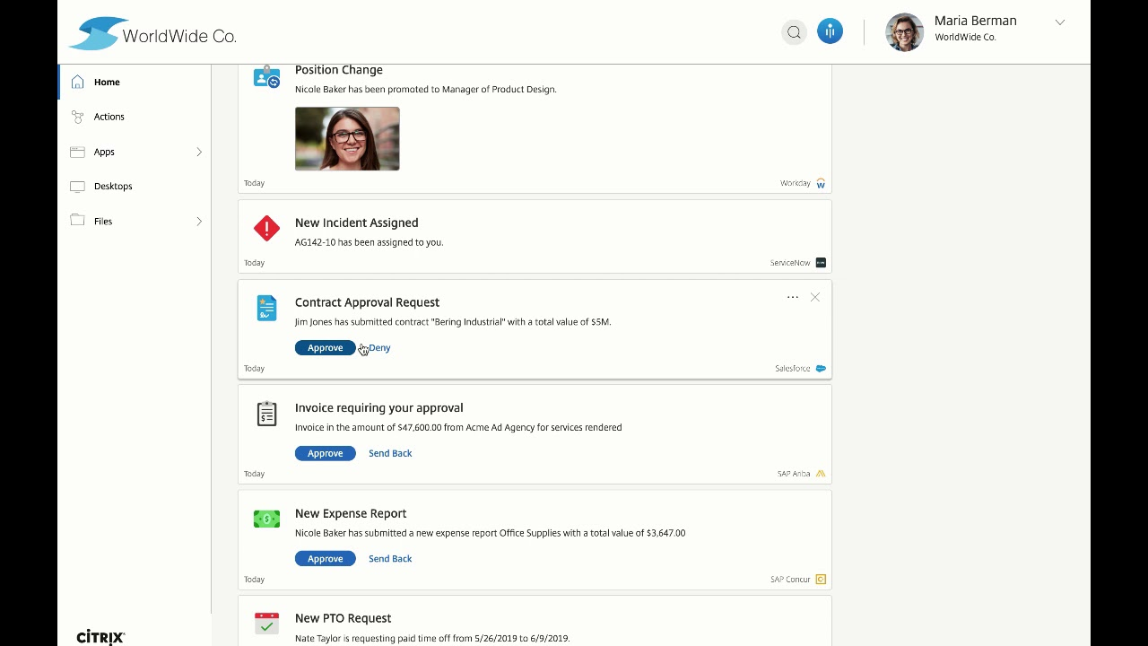 What's new with Citrix Workspace – A year in review | Citrix