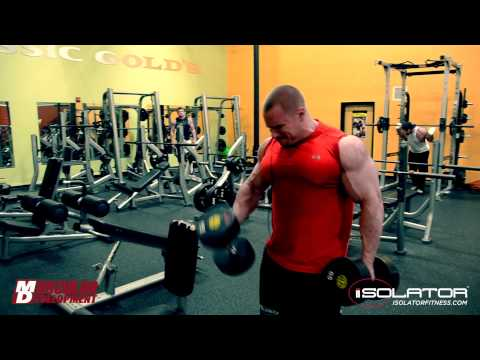 Muscular Development Seth Feroce Interview - Arm Workout 11 Weeks Out