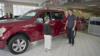 joe flacco test drive   al packer s white marsh ford labor day sales event