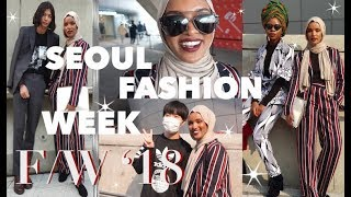 What a (Satur)Day at Seoul Fashion Week is Like!