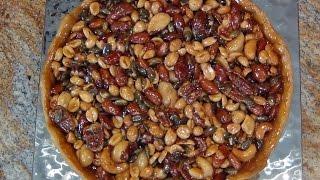 Caramelized Honey, Nut &amp Seed Tart...Easy, Elegant
