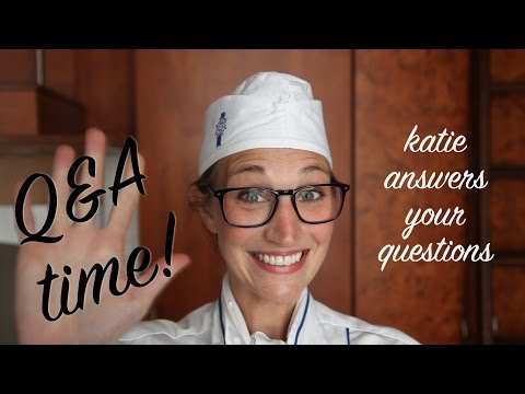 A Peek into Katie's Paris & Culinary School Life - Q&A time! : Paris Vlog #6
