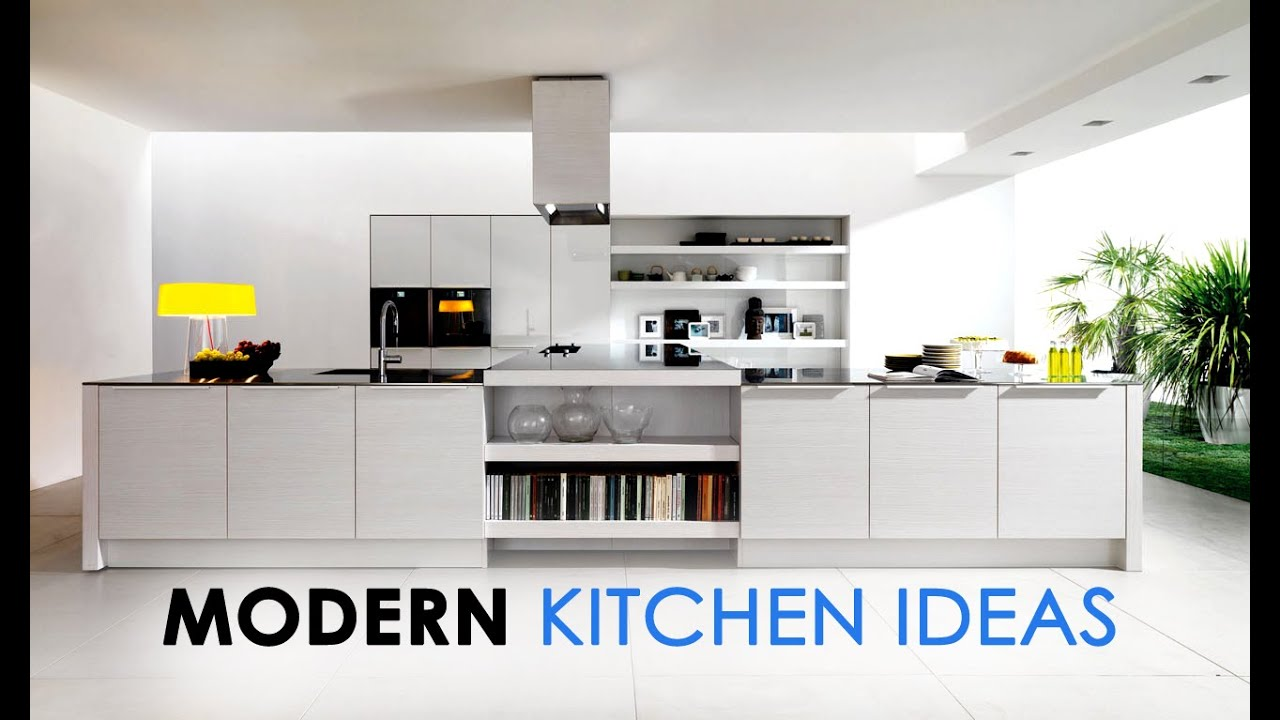 Modern latest most expensive kitchen interior ideas for Latest kitchen design ideas