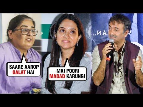 Rajkumar Hirani REACTS On Sexual Harassment Case | Vinta Nanda, Anupama Chopra SUPPORT!
