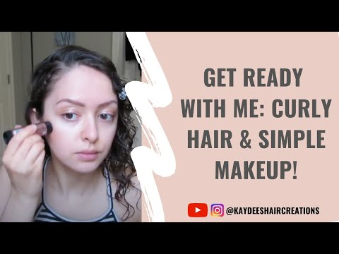 Get Ready With Me: Hair & Makeup! Morning Routine Video