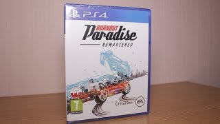 Burnout Paradise Remastered - PlayStation 4 - Unboxing PL/ENG