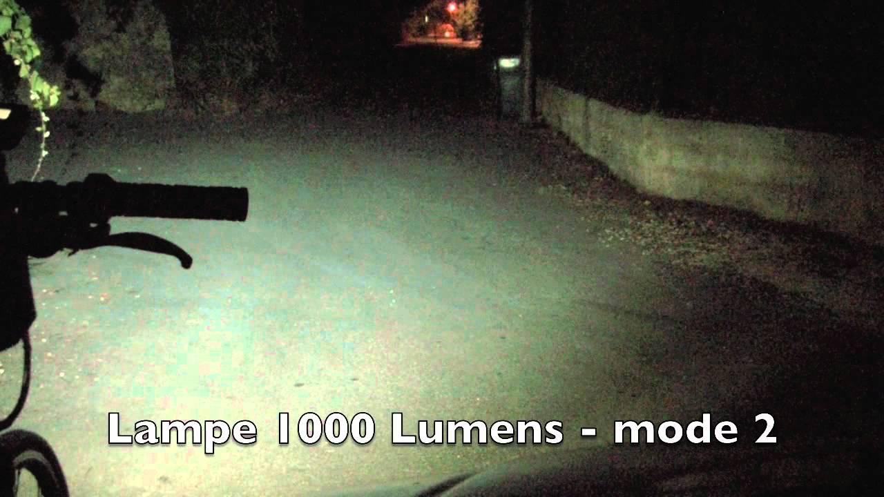 Essai Comparatif Lampe Led 1000 Lumens Ozo Pour Velos Electriques