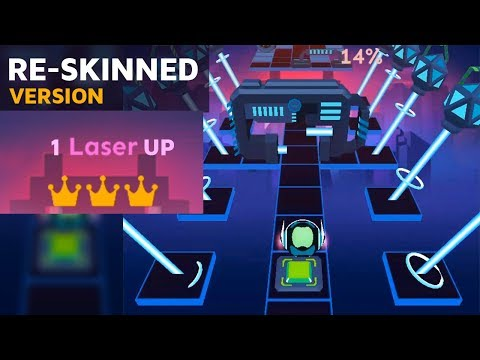 Rolling Sky - 1Laser-UP ReSkinned Widescreen version | SHA