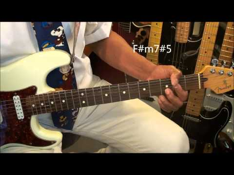 How To Play A Swing Jazz Guitar Chord Progression Tutorial Lesson EricBlackmonMusicHD