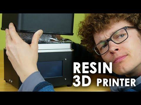 LIVE: FLSUN S - Full HD UV resin DLP 3D printer: assembly and first print
