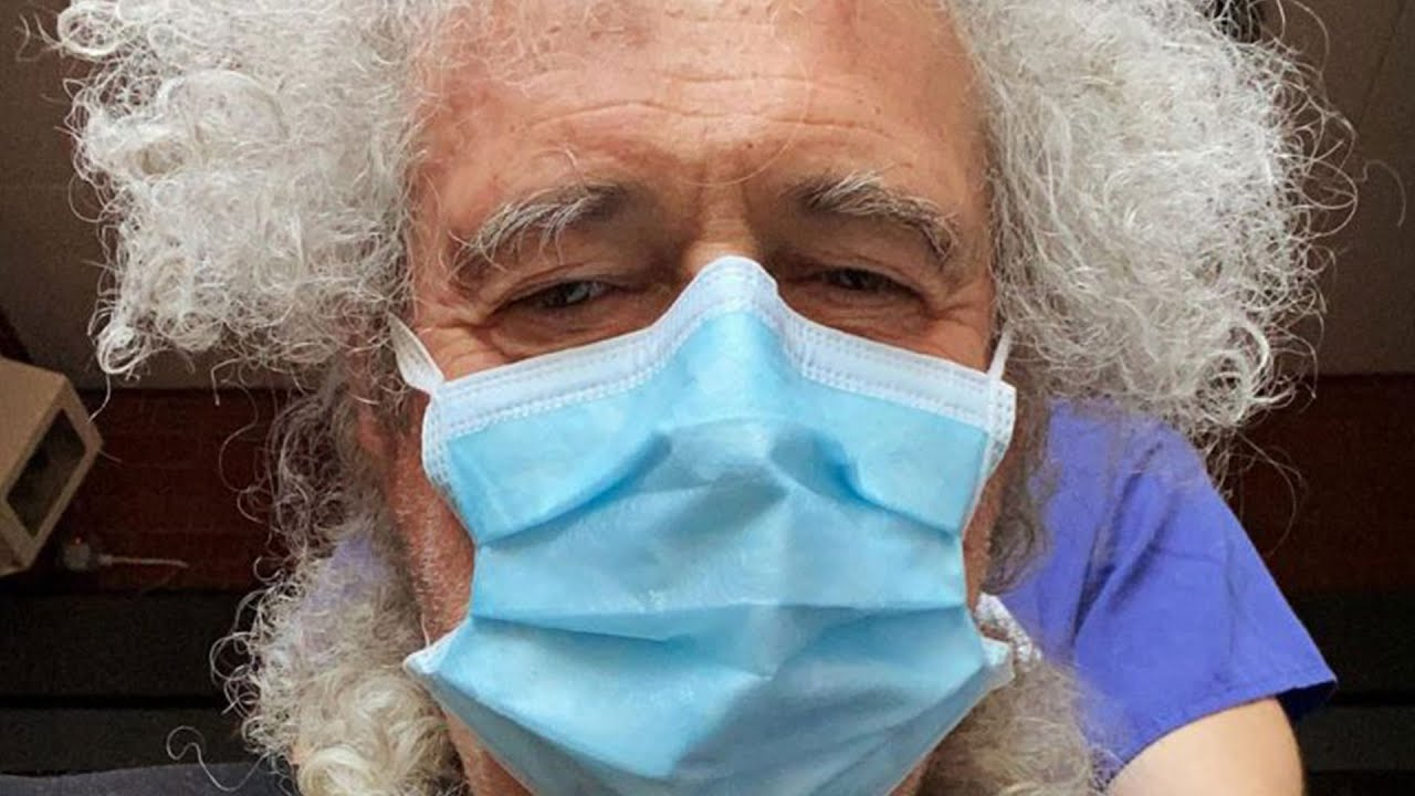 Queen guitarist Brian May suffers heart attack, says he 'could have ...