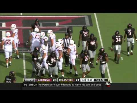 Arkansas vs Texas Tech 2014 FOOTBALL FULL GAME HD