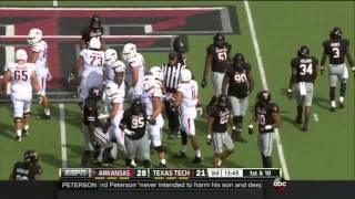 Arkansas vs Texas Tech 2014 FOOTBALL FULL GAME HD