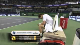 Racquet rage in Shanghai
