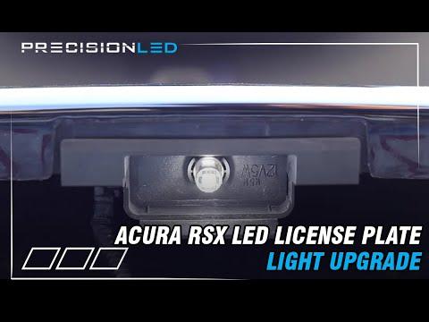 License Plate LED Installation