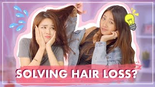 I Tried Fixing My Friend's Hair Loss Problem + GIVEAWAY!