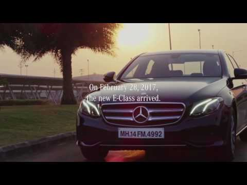 Mercedes-Benz India | The New E-Class Success Story | 2017