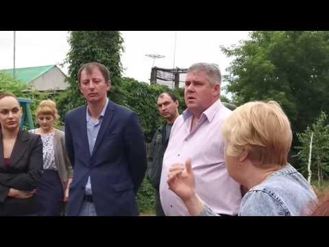 Собрание дома № 8 с участием главы города Славгород