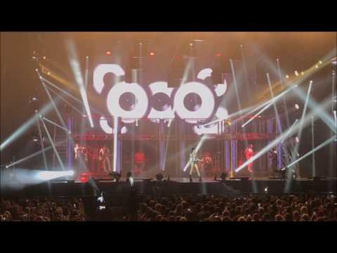 Concert de Tini complet Got me started Tour Zenith Paris 23.04.2017