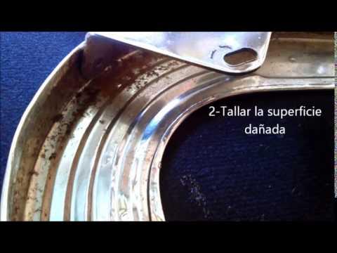 Eliminar oxido con coca cola removing rust with coca - Como quitar el oxido del wc ...
