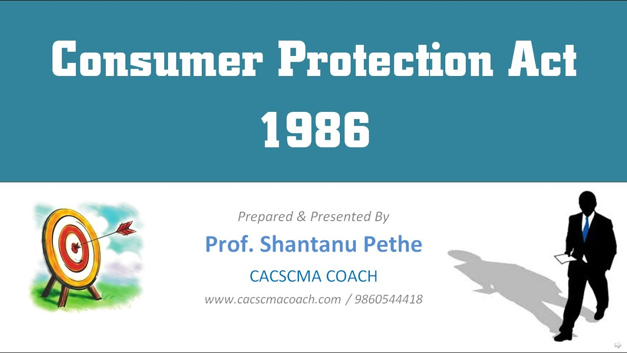 Consumer Protection Act Case Study