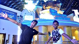 BIGGEST indoor Theme Park In The World w/ Silento, Mo Vlogs, & Adam Saleh