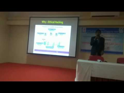 Mr. Fazil kazi - Certified Ethical Hacker at Sinhgad Solapur