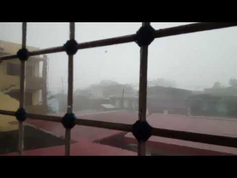 Bagyong Nina sa Calapan Oriental Mindoro December 2016. Typhoon Nock-ten.