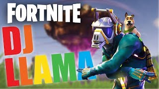 NEW Dj Llama Skin!!! - FORTNITE BATTLE ROYALE GAMEPLAY
